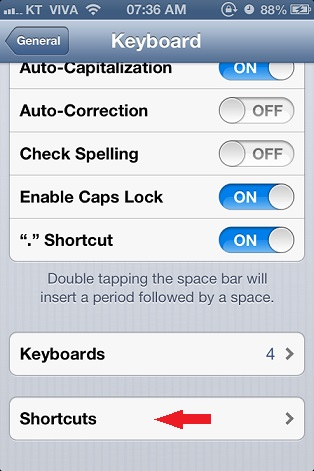 iphone shortcut 3